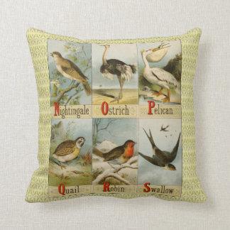 Alfabet av fåglar: Näktergal som ska sväljas, Kudde