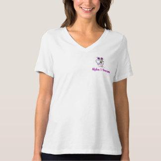 Alfabetisk 1 Antitrypsin brist Tee Shirt