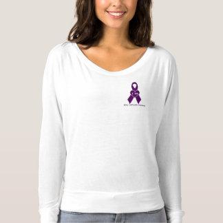 alfabetisk 1 antitrypsinbristlångärmad t shirt
