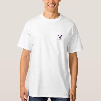 alfabetisk 1 baksida för antitrypsinbristslagsmål t shirt