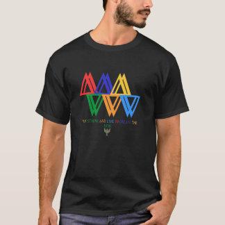 Alfabetisk en t-shirts