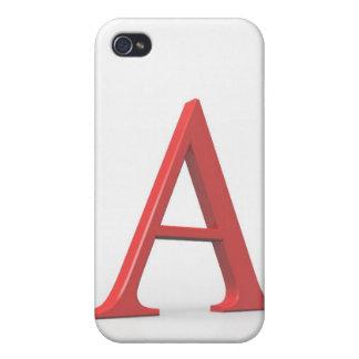 Alfabetisk iPhone 4 Skal