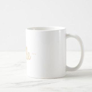 Alfabetisk manlig kaffemugg