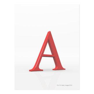 Alfabetisk Vykort