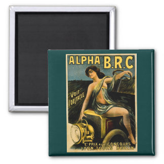 Alfabetisken B.R.C. Lyon turnerar den Berlin vinta Magnet