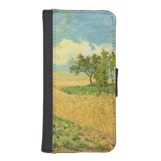 Alfred Sisley | cornfielden iPhone SE/5/5s Plånboksfodral