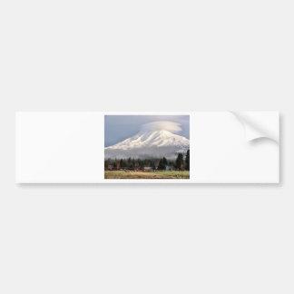 Älg hörda hopsamlingar på basera av Mt. Adams Bildekal