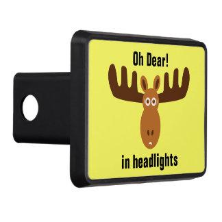 Älg kära Head_Oh! _in headlights_v.2 Bilkroksskydd