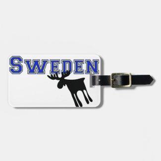 Älg / Moose, Sweden Bagage Lappar