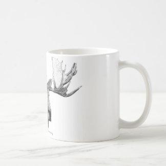 Älg Kaffe Kopp