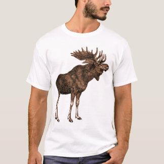 älg på skjortan t shirt