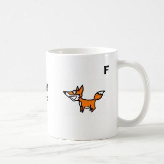 Älg räv, SLYMF, M, F Kaffemugg