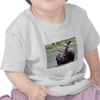 Älgen profilerar tshirts