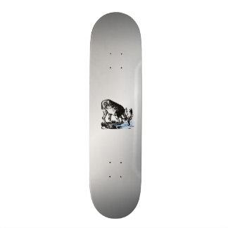 Älgen strömmer in old school skateboard bräda 21,6 cm