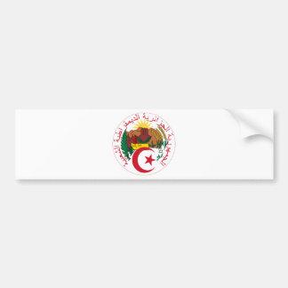 algeria emblem bildekal