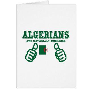 Algerier är naturligt enorma hälsningskort