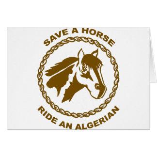 Algerier Hälsningskort