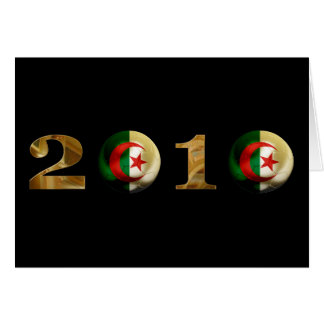 Algeriet 2010 hälsningskort