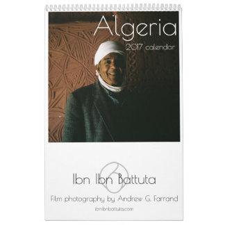 ALGERIET 2017 kalender av Ibn Ibn (engelska)