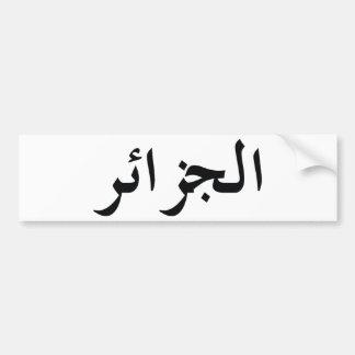 Algeriet/Algérie Bildekal