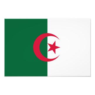 Algeriet - algerisk flagga foto