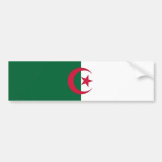 Algeriet/algerisk flaggabildekal bildekal