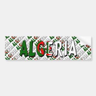 Algeriet Bildekal