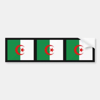Algeriet flagga bildekal