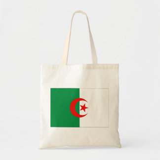 Algeriet flagga budget tygkasse