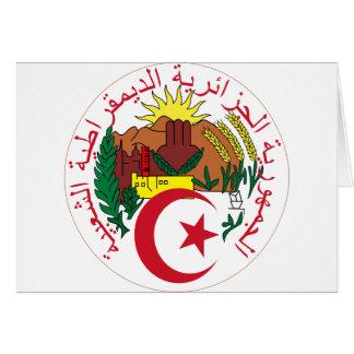 Algeriet lag av armen DZ Hälsningskort