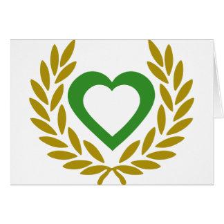 Algeriet-lagrar-hjärta Hälsningskort