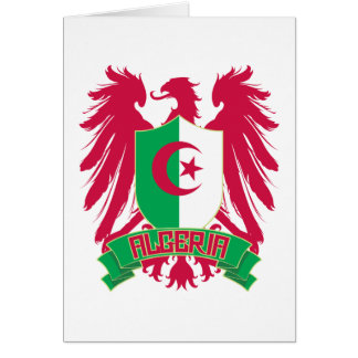 Algeriet påskyndade hälsningskort