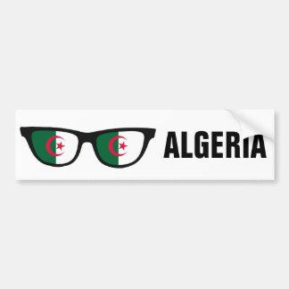 Algeriet skuggar beställnings- text- & bildekal
