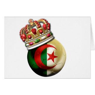 Algeriet världsmästare hälsningskort
