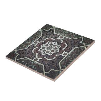 Alhambra utsmyckad mosaisk design kakelplatta