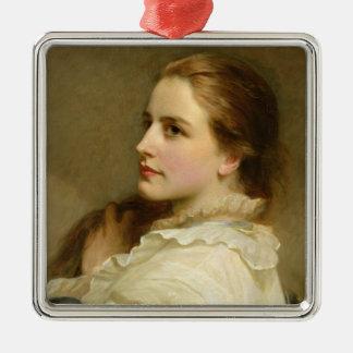 Alice 1877 julgransprydnad metall