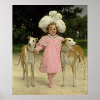 Alice Antoinette de la Fördärva som åldras fem Poster