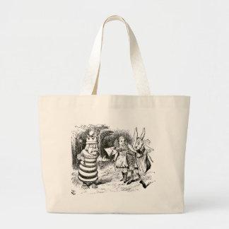 Alice & budbärare jumbo tygkasse