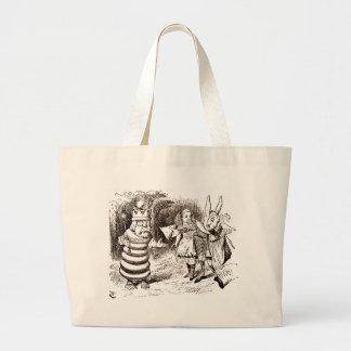 Alice & budbäraresepiaen jumbo tygkasse