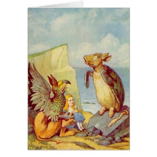 Alice - den falska sköldpaddan - notera kortet OBS kort