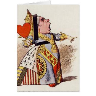 Alice - drottningen av hjärtor 2 - notera kortet OBS kort