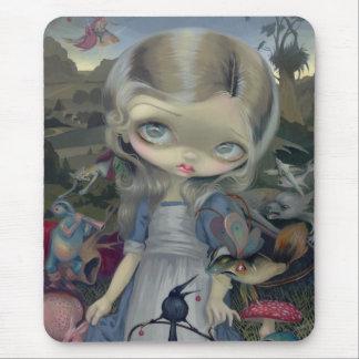Alice i en Bosch underland Mousepad Mus Mattor