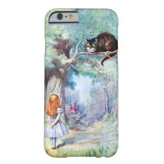 Alice i fodral för iPhone 6 för underlandCheshire Barely There iPhone 6 Skal