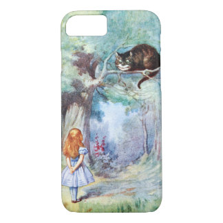 Alice i fodral för iPhone 7 för underlandCheshire