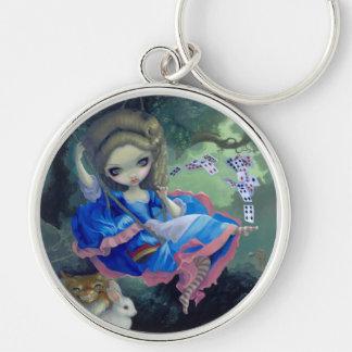 """Alice i Fragonards gunga"" Keychain Nyckel Ring"