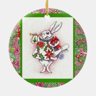Alice i helgdaghelveteprydnad julgransprydnad keramik