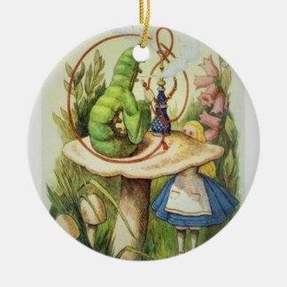 Alice i julprydnad för underland 2017 julgransprydnad keramik
