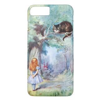 Alice i plus för iPhone 7 för underlandCheshire