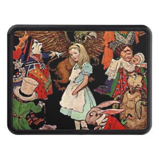 Alice i underland med vänillustrationen skydd för dragkrok