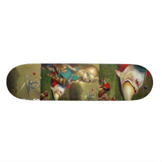 Alice i underland och den Bosch fågelSKATEBOARDEN Anpassad Skate Board